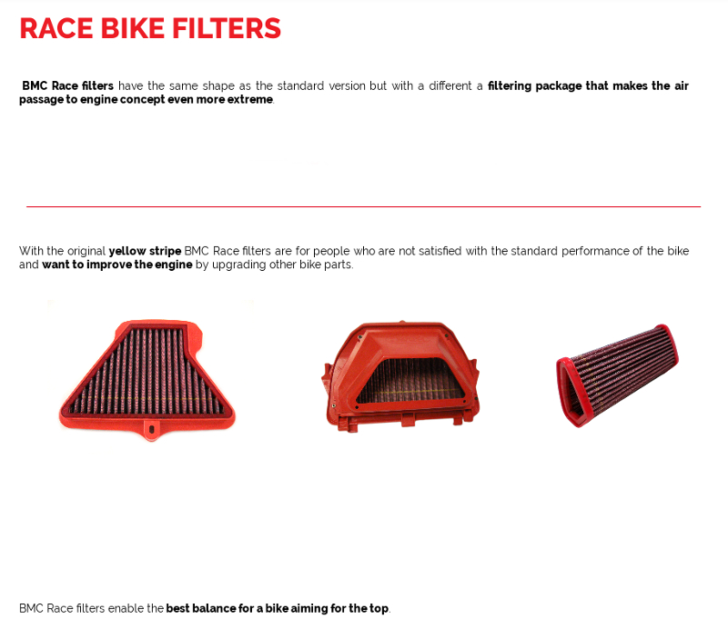 Race Air Filters
