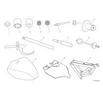 Ducati Panigale V4 / V4S / V4R - Workshop Service Tools (Frame)