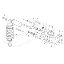 Aprilia RSV4 1000 APRC R ABS 2013-2014 - Rear Suspension