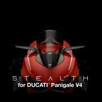 Rizoma Stealth Mirrors - Ducati Panigale V4 - BSS040A, BSS040B, BSS040D